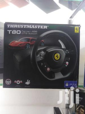THRUSTMASTER T80 Ferari 4BB Gtb Racing Wheel | Accessories & Supplies for Electronics for sale in Nairobi, Nairobi Central