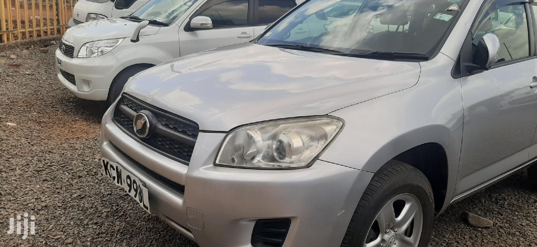 Archive: Toyota RAV4 2012 Silver