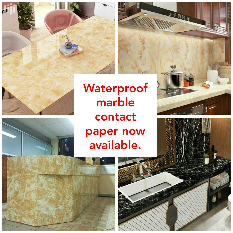 Marble Contact Paper Waterproof