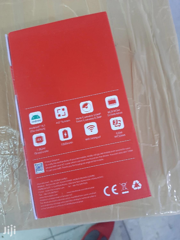 New Itel A14 8 GB Gray