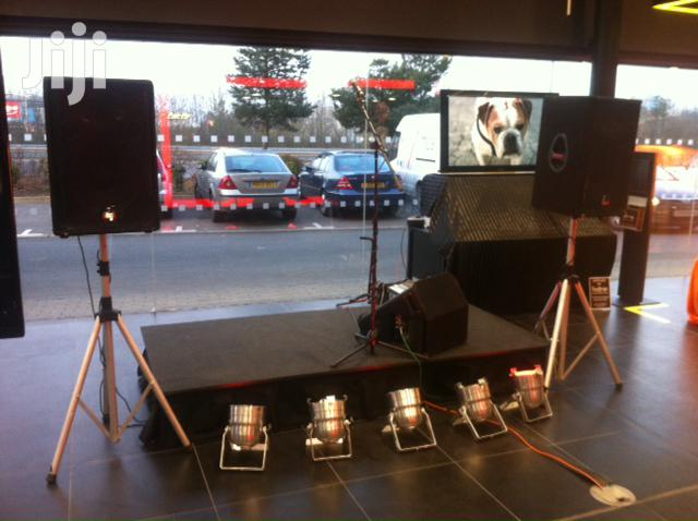 Archive: PA System And TV For Hire