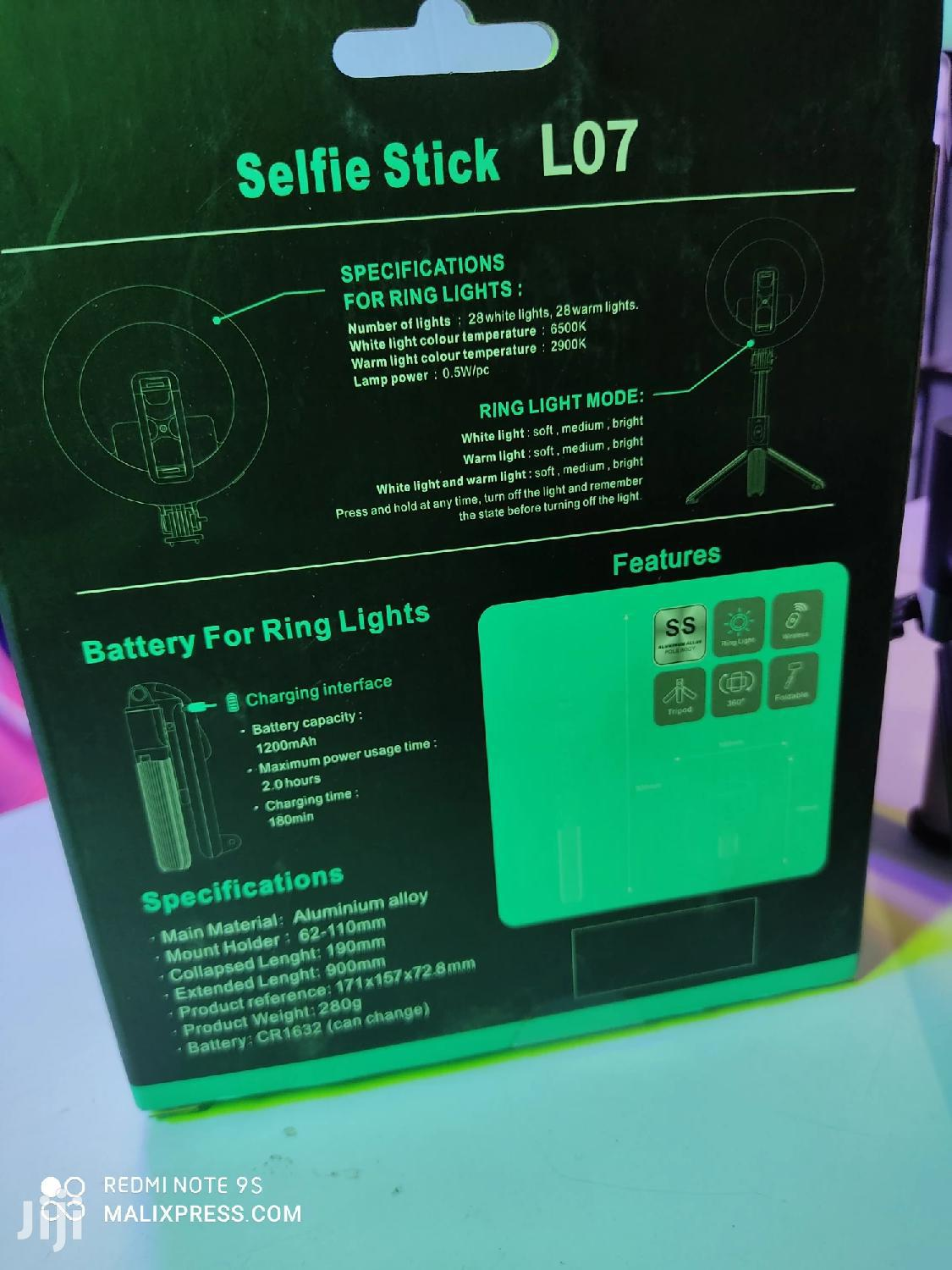 LED Ring Light Bluetooth Selfie Stick Tripod Stand | Accessories for Mobile Phones & Tablets for sale in Nairobi Central, Nairobi, Kenya