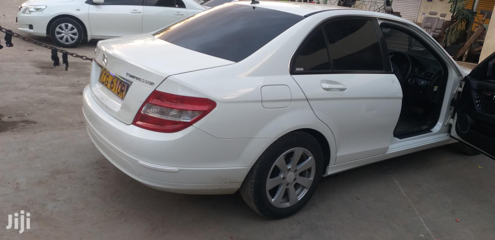 Archive: Mercedes-Benz 200 2008 White