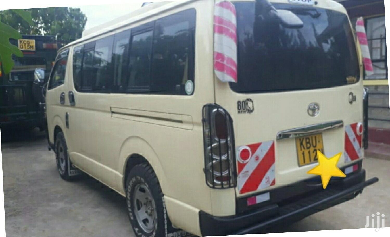 Toyota Hiace 2007 Beige | Buses & Microbuses for sale in Utawala, Nairobi, Kenya