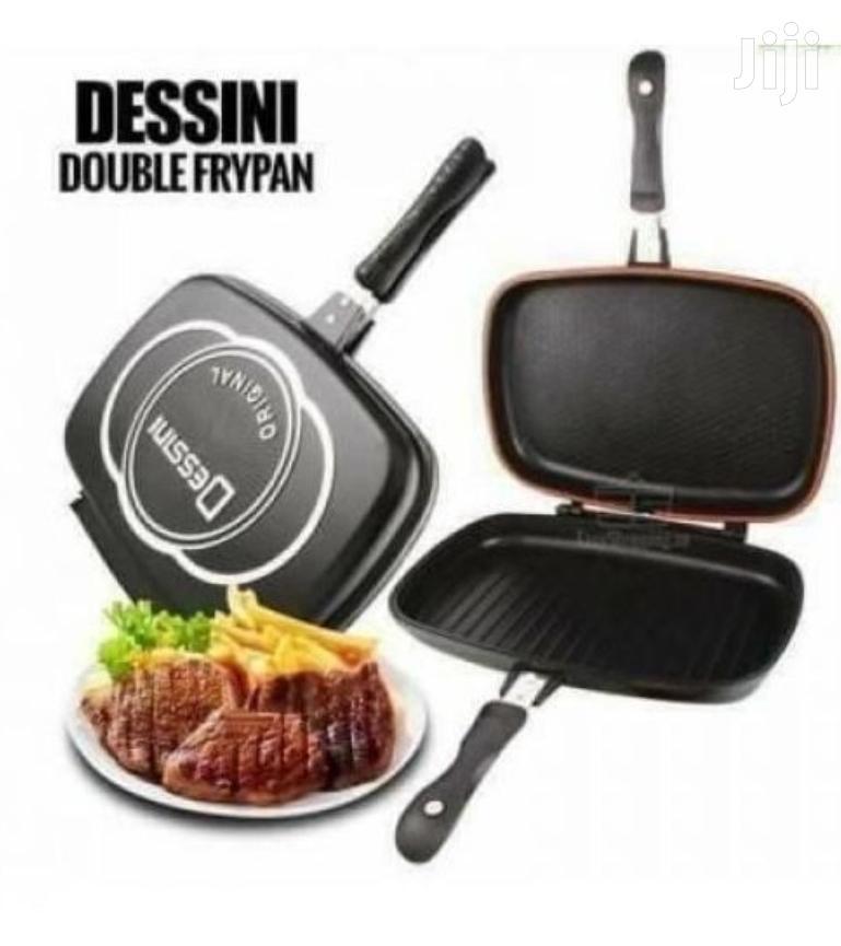 Dessini Dessin Double Grill Non-Stick Pressure Pan-36cm