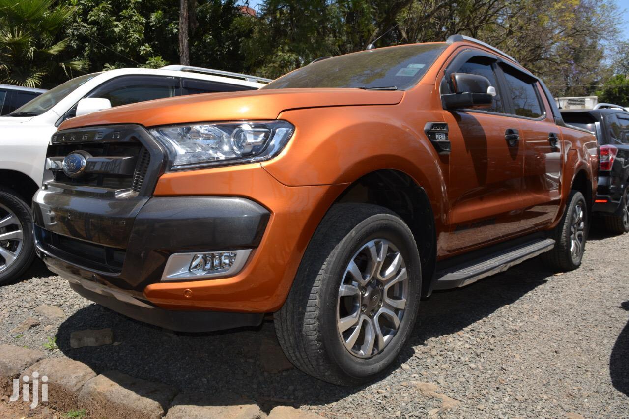 Ford Ranger Single Cab 2015 Orange