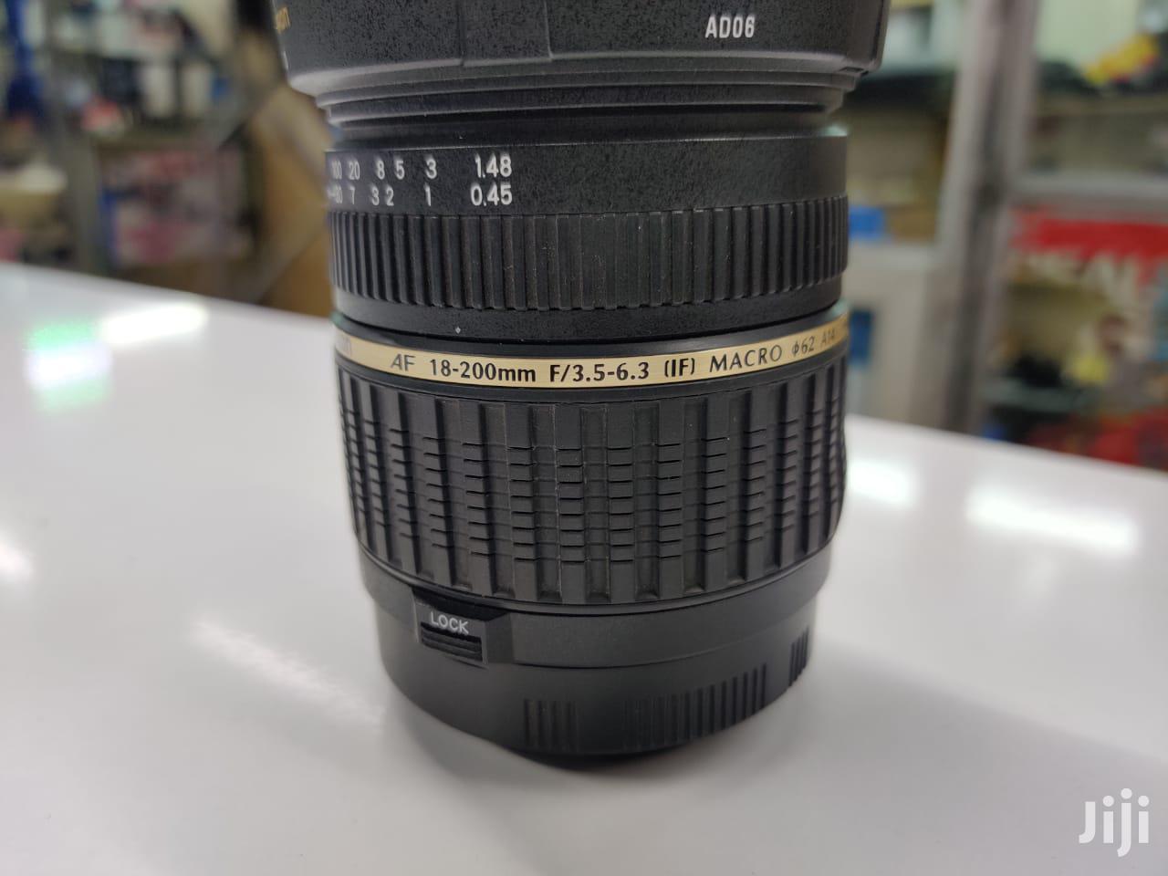 Tamron 18-200mm Canon Lens