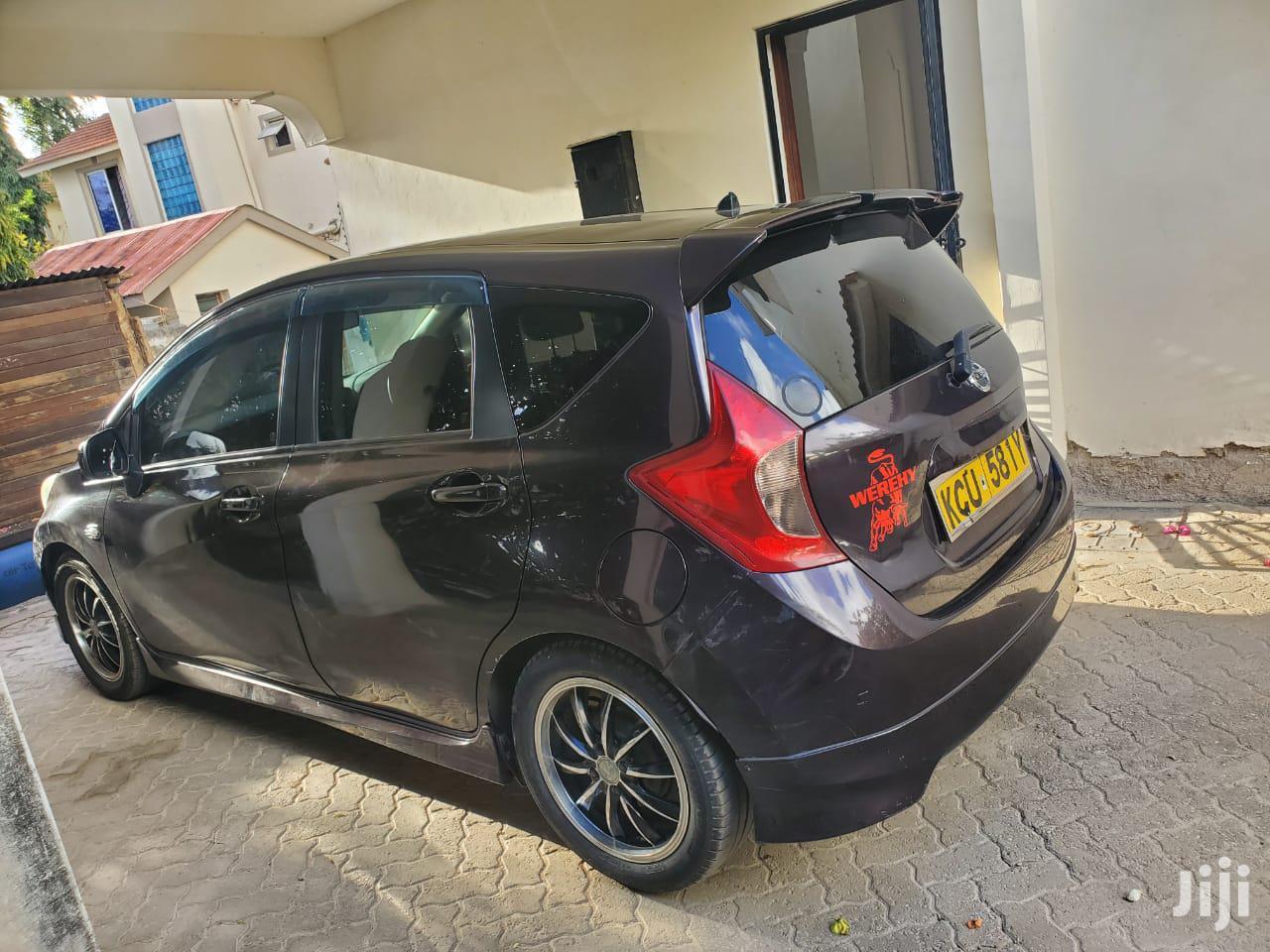 Nissan Note 2012 1.4 Purple   Cars for sale in Westlands, Nairobi, Kenya