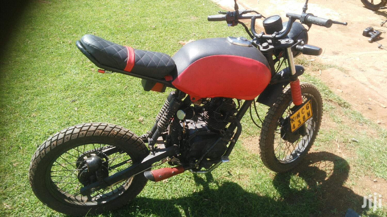 Archive: Custom Built Motorcycles 2009 Red