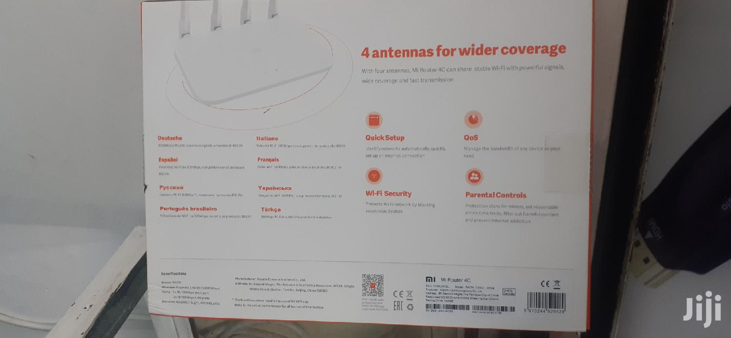 Mi Router 4c 300mbps Innovation For Everyone   Networking Products for sale in Nairobi Central, Nairobi, Kenya