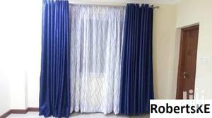 Plain Blue Linen Curtain   Home Accessories for sale in Nairobi, Nairobi Central
