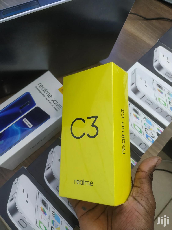 New Realme C3 64 GB Blue
