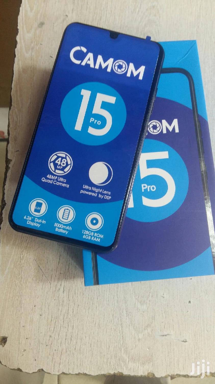Tecno Camon 15 Pro 128 GB Black