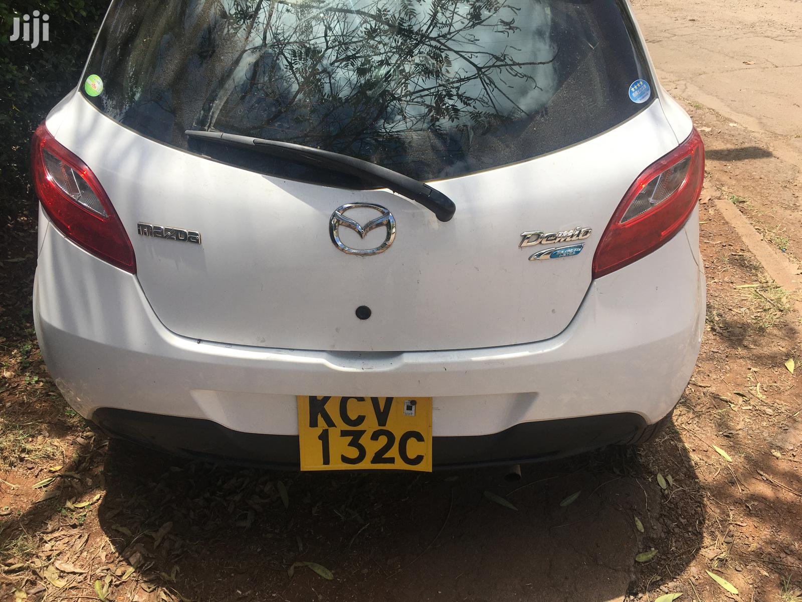 New Mazda Demio 2012 White   Cars for sale in Langata, Nairobi, Kenya