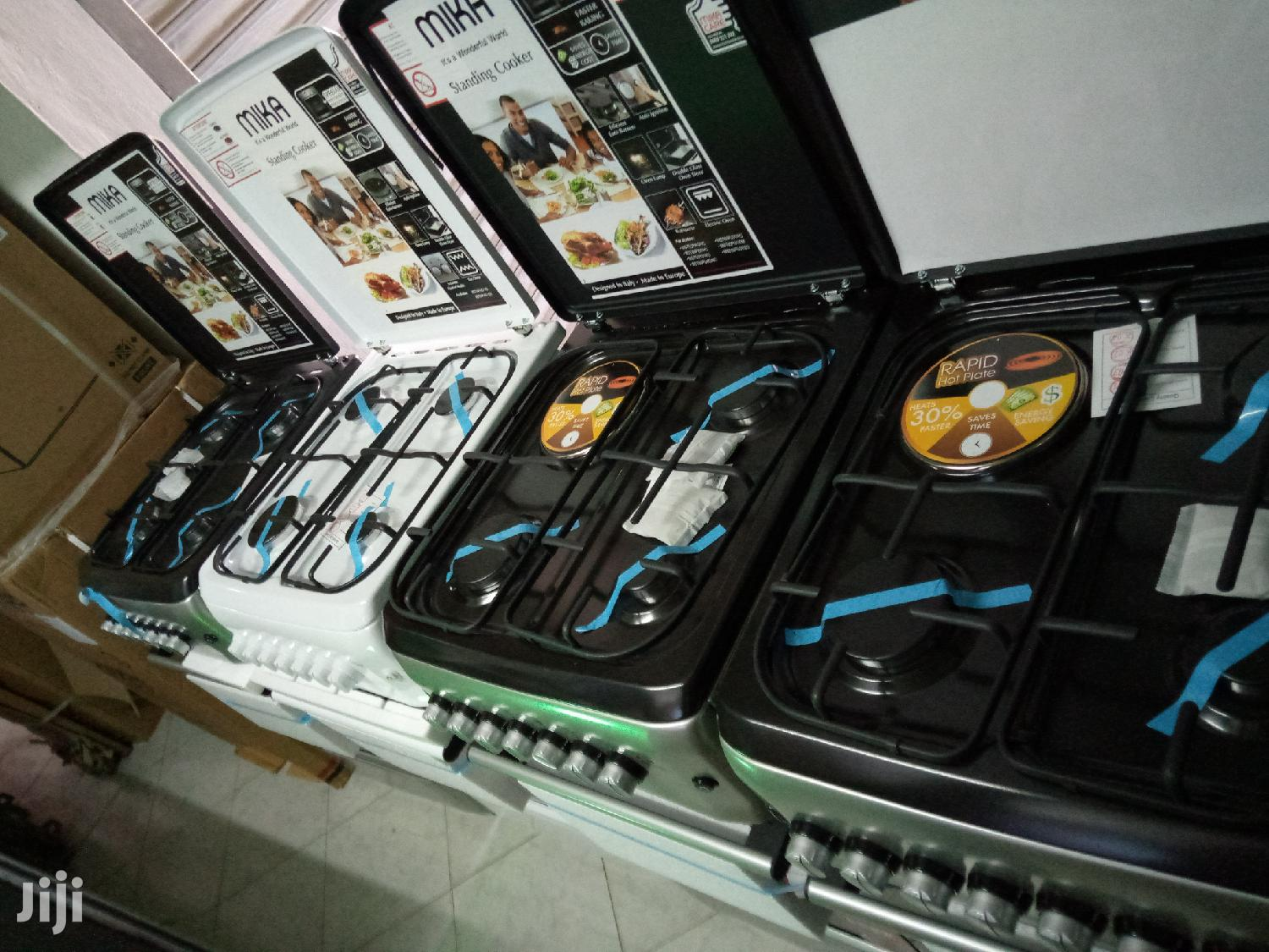 Mika Standing Cookers 3 Burner Gas, 1E and Oven Electric