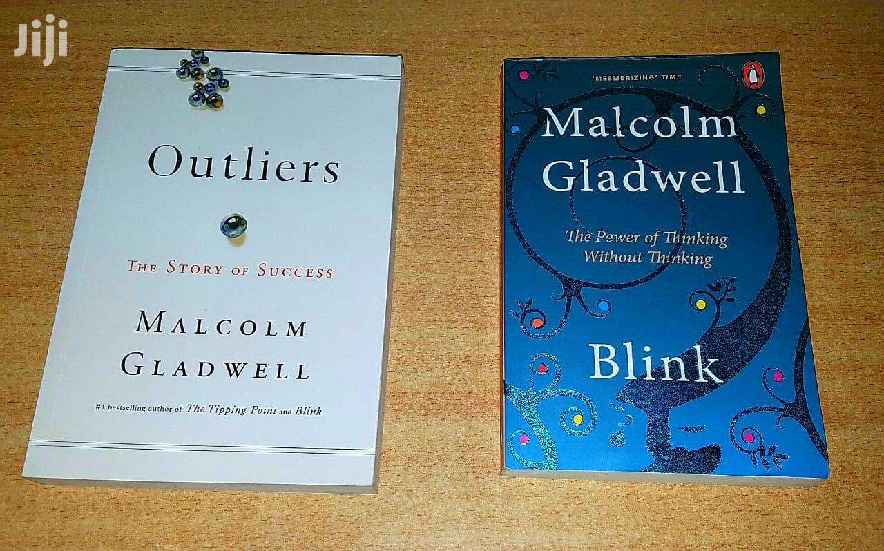 Malcom Gladwell Books Are Available.