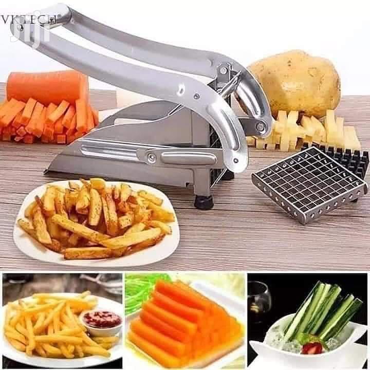Metallic Chips Potato Slicer