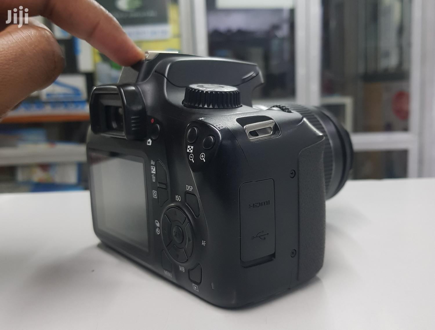 Canon EOS 4000D DSLR Camera and EF-S 18-55 Mm   Photo & Video Cameras for sale in Nairobi Central, Nairobi, Kenya