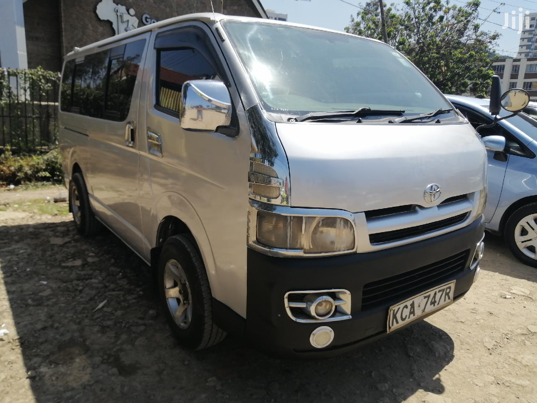 Toyota Hiace Reg KCA 3000cc Auto Diesel | Buses & Microbuses for sale in Kilimani, Nairobi, Kenya