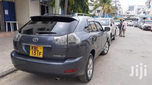 Toyota Harrier 2008 Gray   Cars for sale in Mombasa, Kisauni