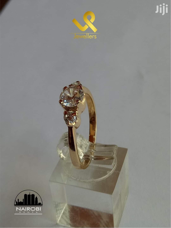 Custom Made 9kts Yellow Gold Custom Piece Ring