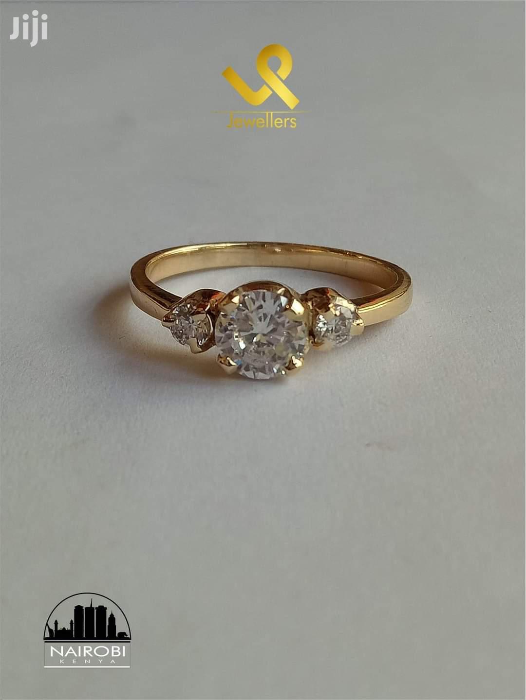 Custom Made 9kts Yellow Gold Custom Piece Ring | Jewelry for sale in Nairobi Central, Nairobi, Kenya