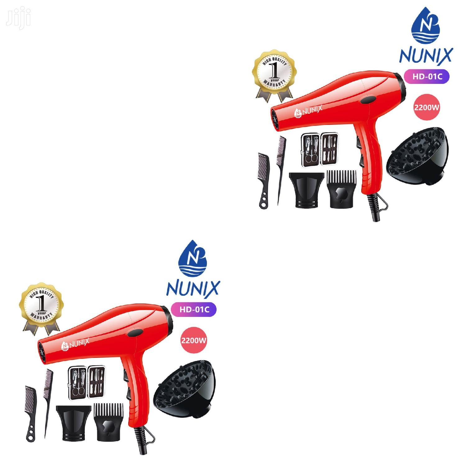 Nunix Blowdry With Manicure Set Available