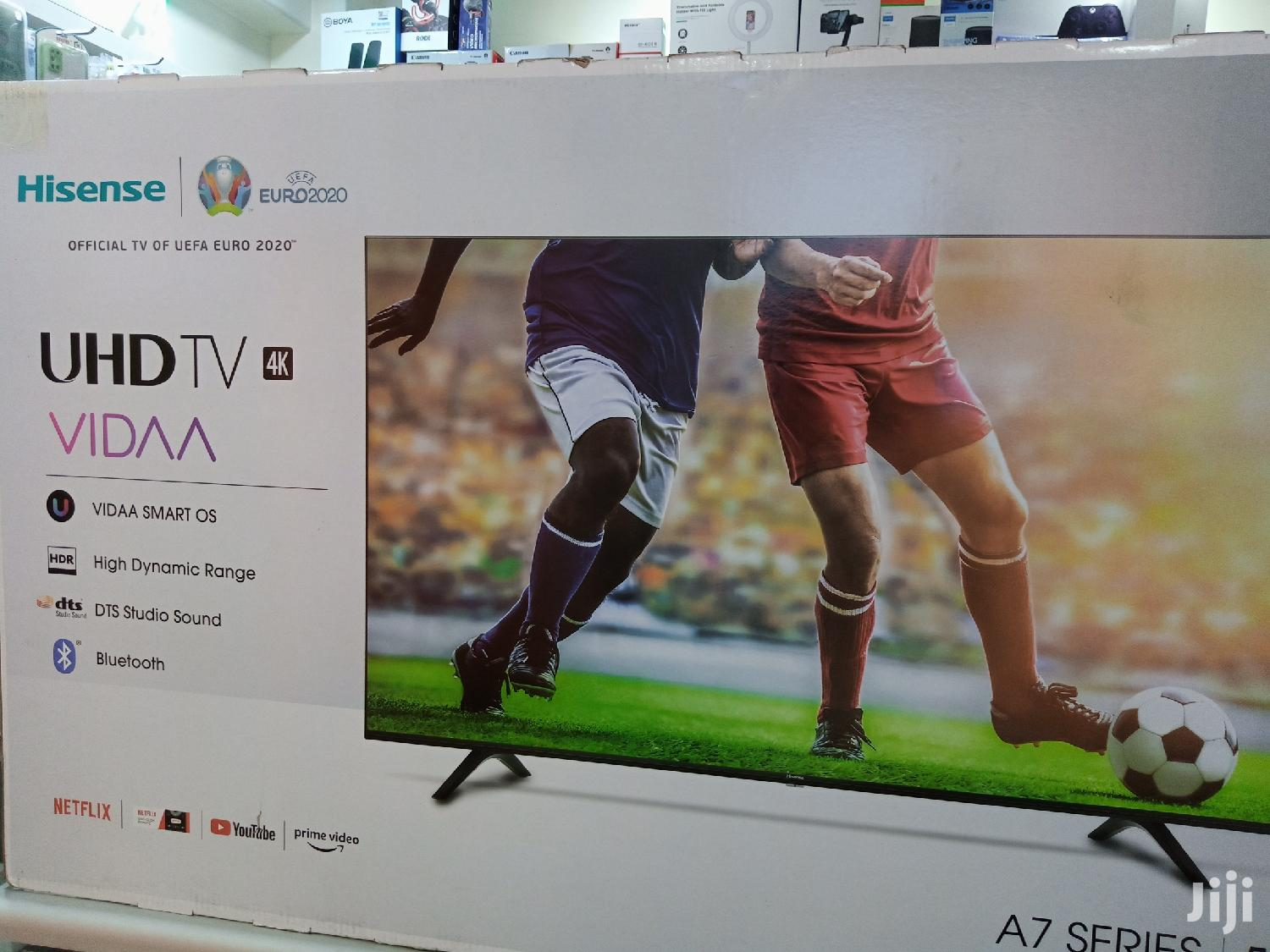 """Hisense 55"""" Smart 4k Brand New and Sealed in a Shop"""