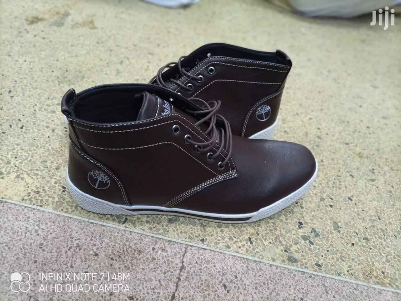 Timberlands Leather Sneakers