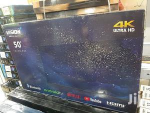 Vision 50 Inch Smart 4K UHD Android Frameless TV | TV & DVD Equipment for sale in Nairobi, Nairobi Central