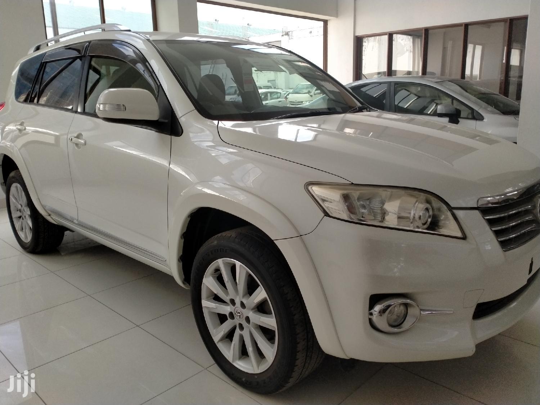 Toyota Vanguard 2013 White | Cars for sale in Tudor, Mombasa, Kenya