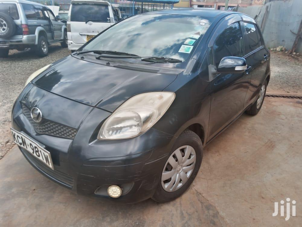 Toyota Vitz 2010 Black | Cars for sale in Eldoret CBD, Uasin Gishu, Kenya