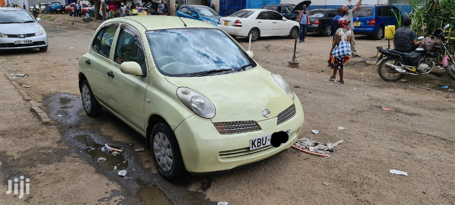 Nissan March 2005 Yellow | Cars for sale in South B (Makadara), Nairobi, Kenya