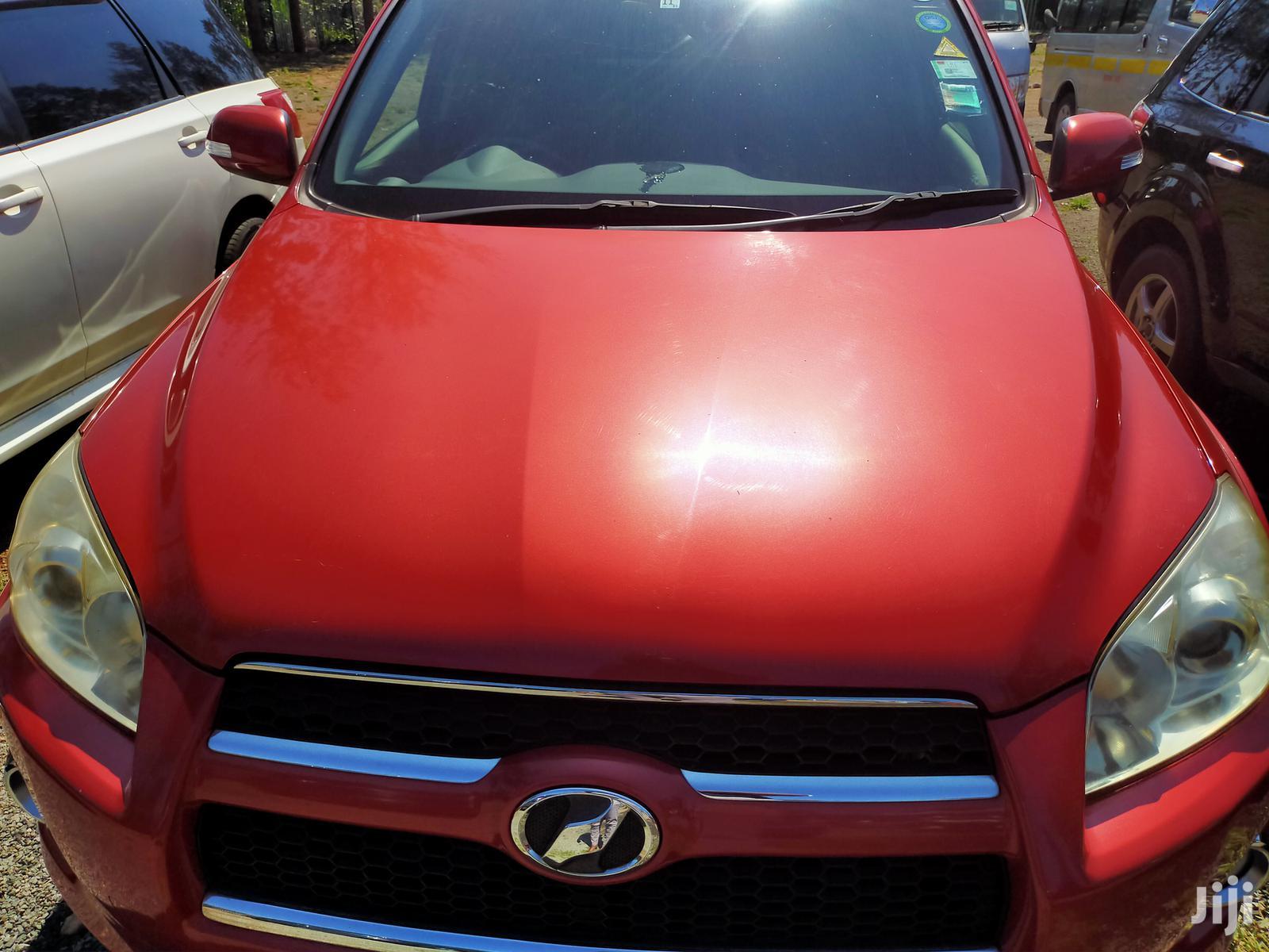 Archive: Toyota RAV4 2013 Red