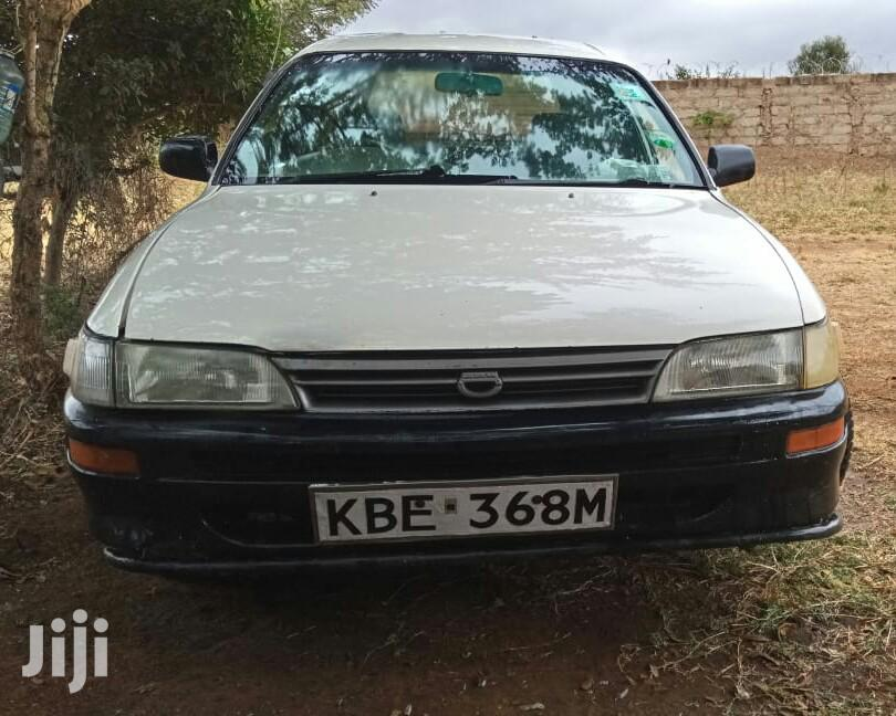 Archive: Toyota Corolla 2003 White