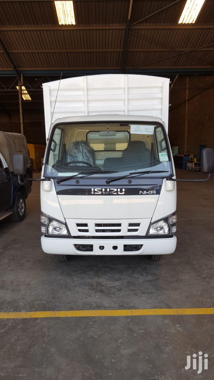 ISUZU NKR 4.3 - 5.7 Ton GVW - 14 Foot Body - Narrow Cabin