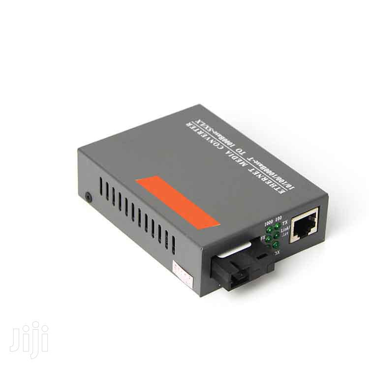 1 Pair 1000mbps Gigabit A/B Fiber Optic Media Converter | Accessories & Supplies for Electronics for sale in Nairobi Central, Nairobi, Kenya