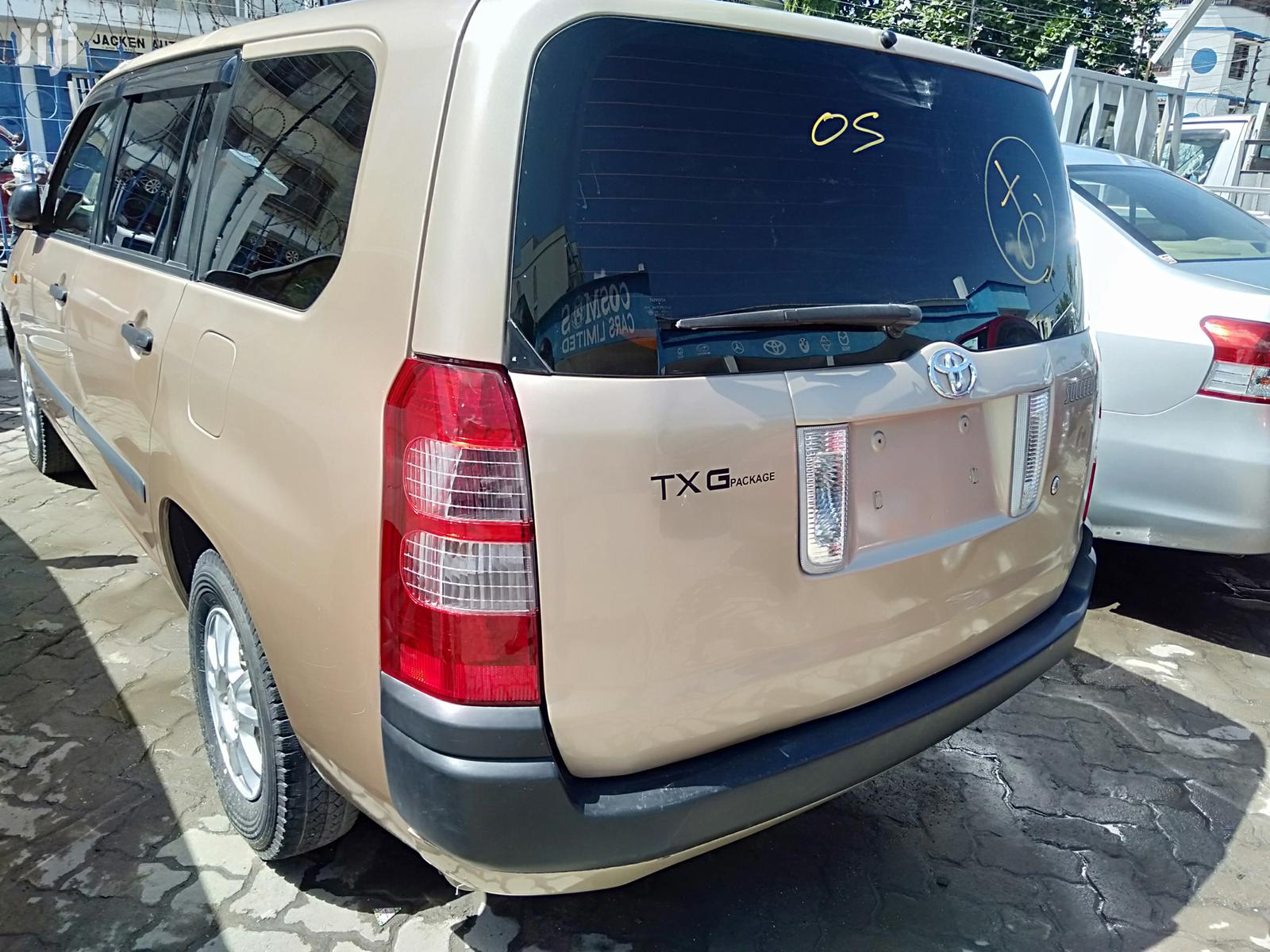 Toyota Succeed 2013 Gold   Cars for sale in Majengo, Mombasa, Kenya