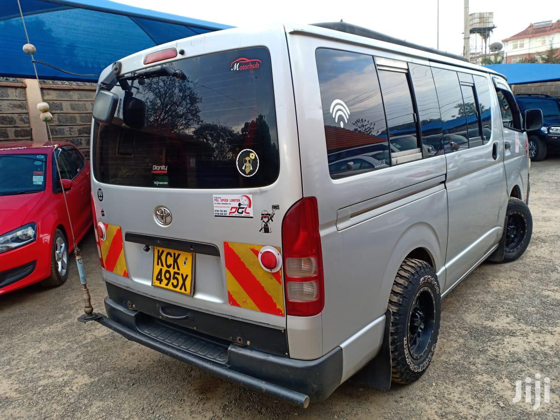 Archive: Toyota Hiace Tour Van Auto Petrol 70% Finance Organised
