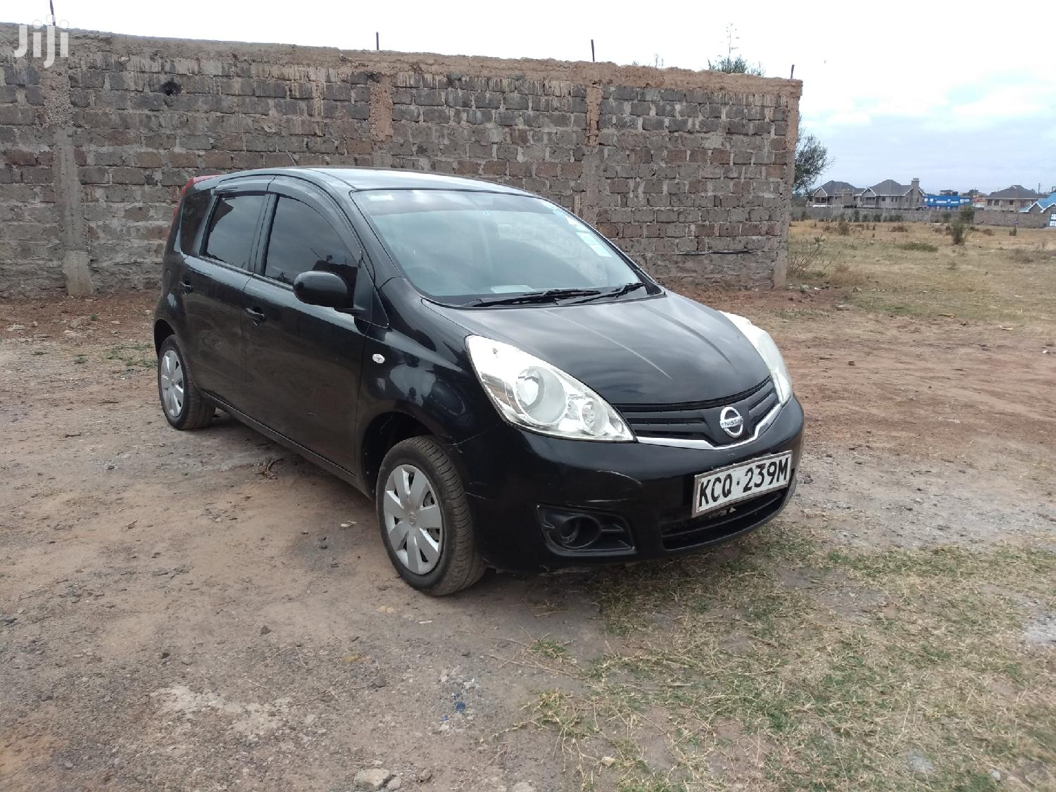 Nissan Note 2012 1.4 Black | Cars for sale in Nairobi Central, Nairobi, Kenya