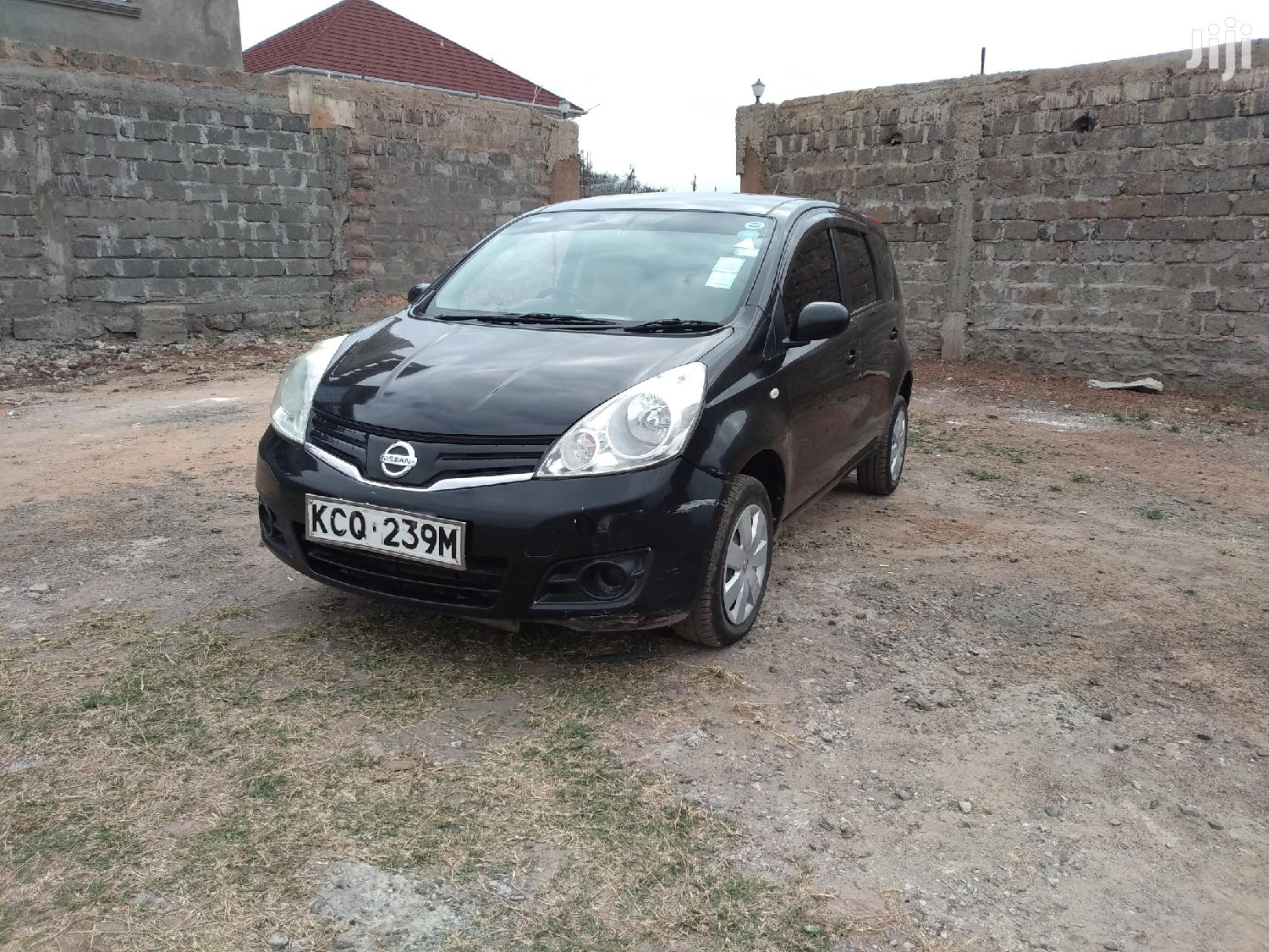 Nissan Note 2012 1.4 Black