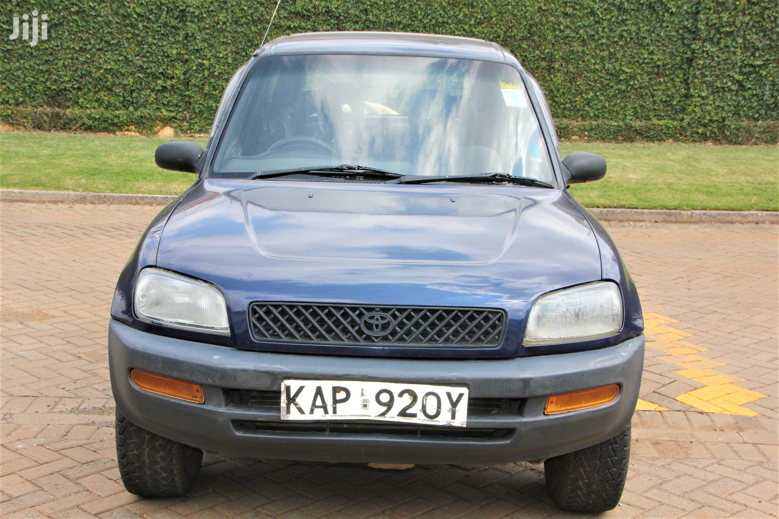 Archive: Toyota RAV4 4x4 1996 Blue