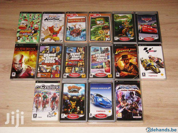 Playstation Portable Psp Games And Chipping | Video Game Consoles for sale in Nairobi Central, Nairobi, Kenya