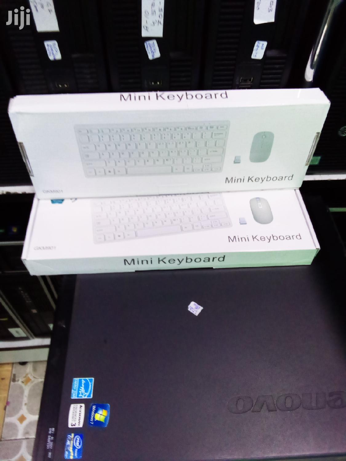 Archive: Wireless Mini Keyboard and Mouse