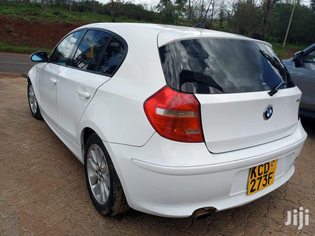 Archive: BMW 116i 2008 White