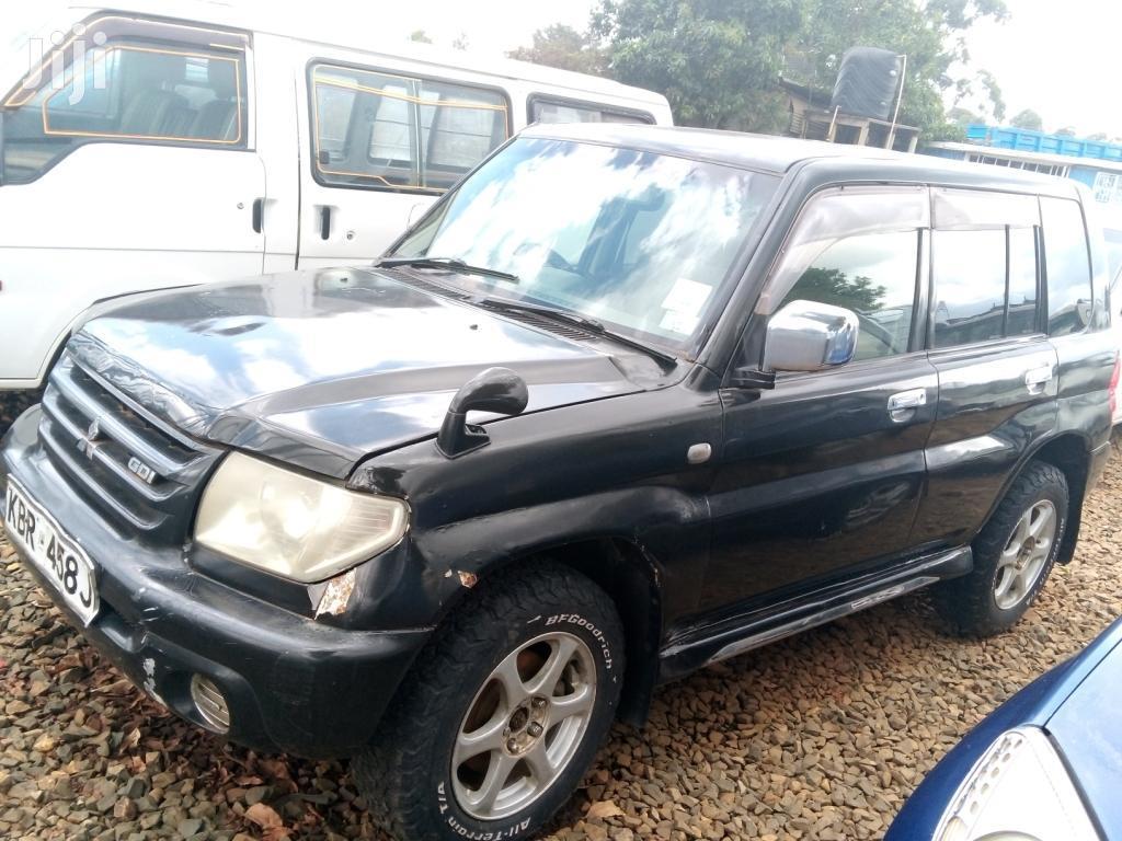 Mitsubishi Pajero IO 2005 Black
