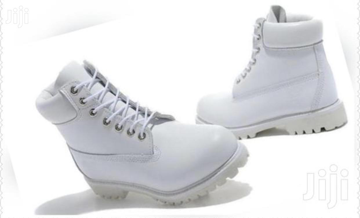 Archive: White Timberland Boots Size 43