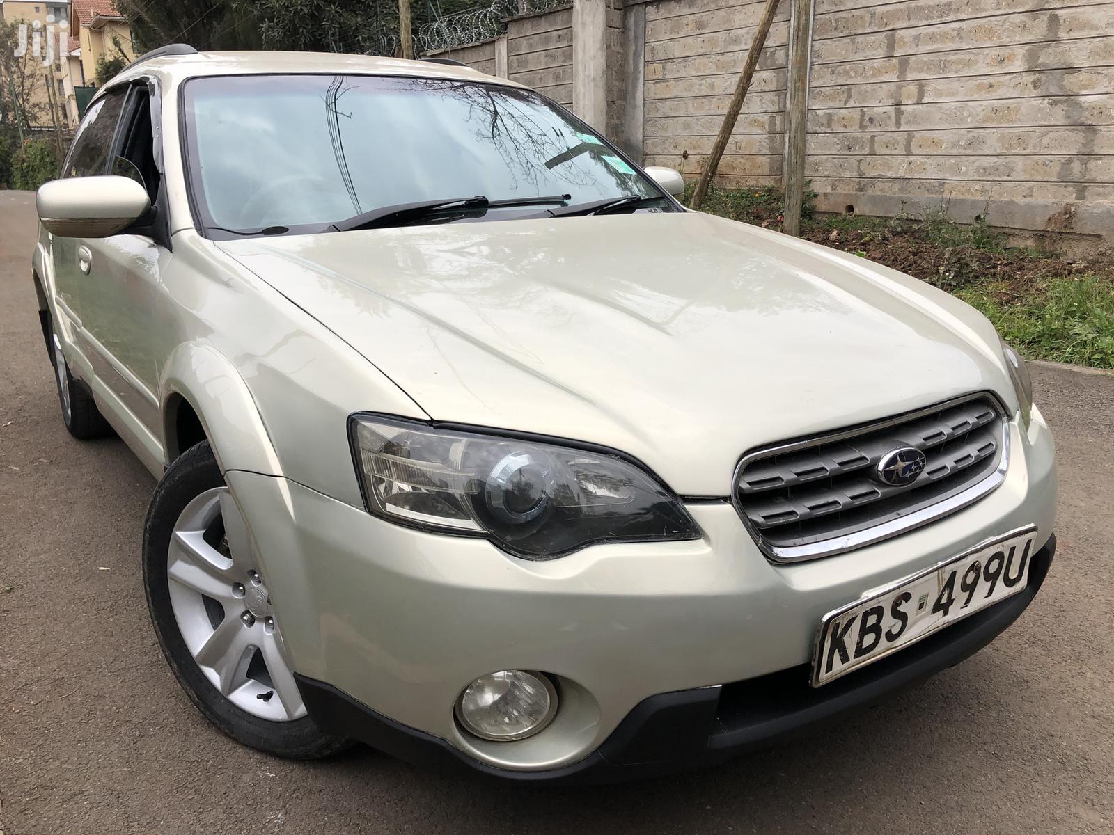 Archive: Subaru Outback 2007 Gold