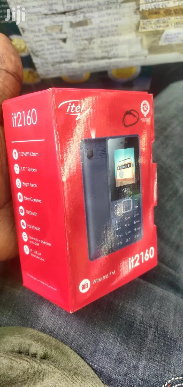 New Itel it2150 Black