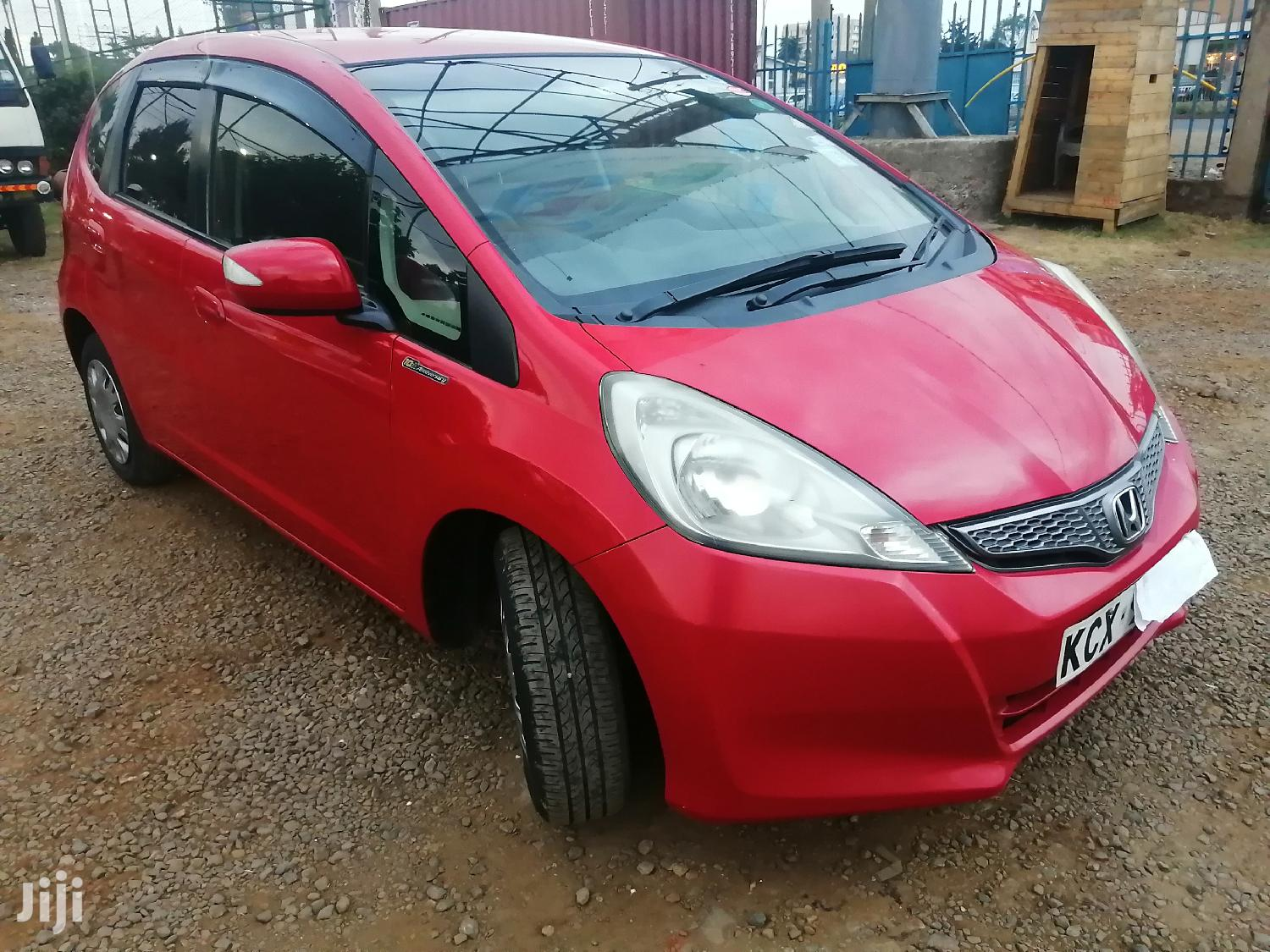 Honda Fit 2012 Automatic Red